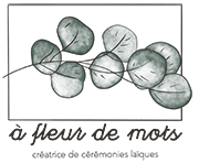 A fleur de mots Logo